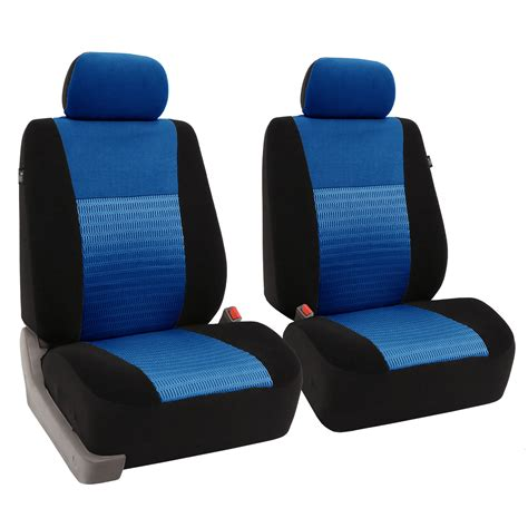 airbag seat covers pair fabric seat covers for detachable headrest