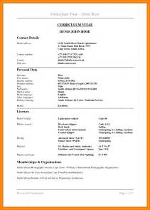cv template south africa resumes 7 cv template south africa 2017 homed