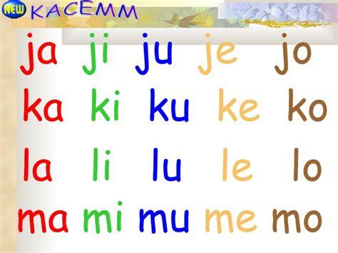 Ma Ja Ka Ni Ka N Za Original Diskon suku kata terbuka