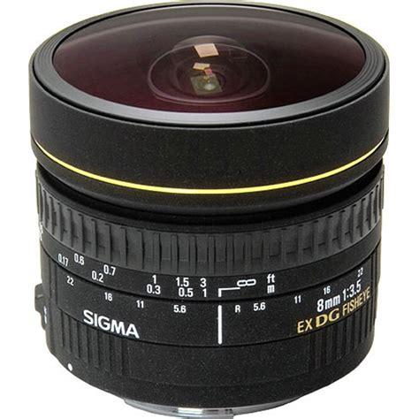 Lensa Fisheye Sigma Untuk Canon sigma 8mm f 3 5 ex dg circular fisheye lens for canon ef 485101