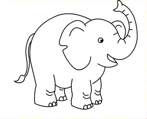 preschool coloring pages elephant preschool elephant coloring page for kids free animal