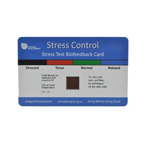 stress test card template plastic stress mood card plastic stress test card stress card