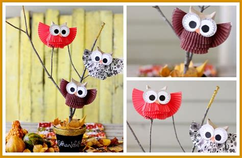 centerpieces craft owl centerpiece display sugar bee crafts