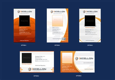 id card design for company company id cards images