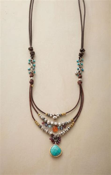 Handcrafted Jewels - handcrafted necklaces robert redford s sundance catalog