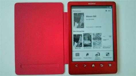 sony ebook reader mit beleuchtung ereader test kein licht wie der sony reader prs t3 sich