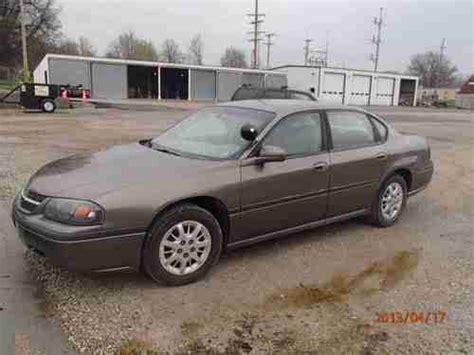 2001 impala gas mileage purchase used 2001 chevrolet impala base sedan 4 door 3 8l