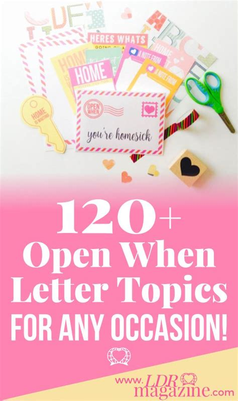 open when letter topics 1000 ideas about open when letters on open 1523
