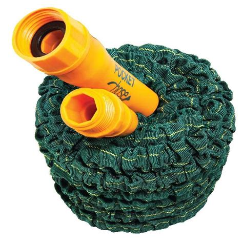 Garden Hoses At Home Depot by Pocket Hose 1 2 In Dia X 25 Ft Dura Rib Water Hose Shop Your Way Shopping Earn