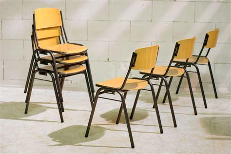 vintage len marktplaats retro vintage marko schoolstoelen stapelbaar en koppelbaar