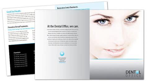 Dental Brochure Design Brickhost 0f8ab985bc37 Dental Brochure Template