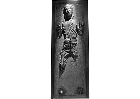 Star Decor For Home Life Size Han Solo In Carbonite Fathead Wall Decal Shop