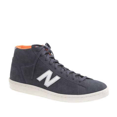 sneakers mens j crew s new balance 174 891 high top sneakers in blue