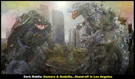Godzilla L by Gamera Godzilla L A Standoff By Darkriddle1 On Deviantart