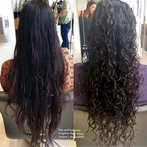 how to create long wavey curls with perm kay and kompany organic hair and beauty salon this takes