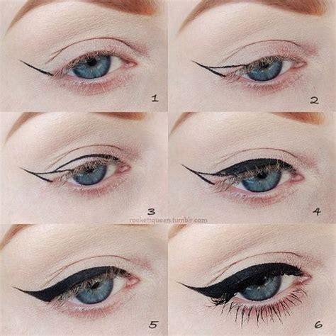 eyeliner tutorial buzzfeed perfect wing eyeliner eyeliner pinterest