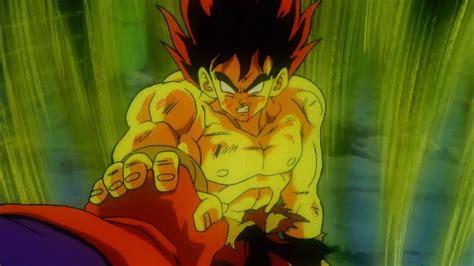 dragon ball z movie 4 goku es un super saiyajin hd espa 241 ol
