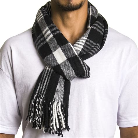alpine swiss mens scarf softer than scarves