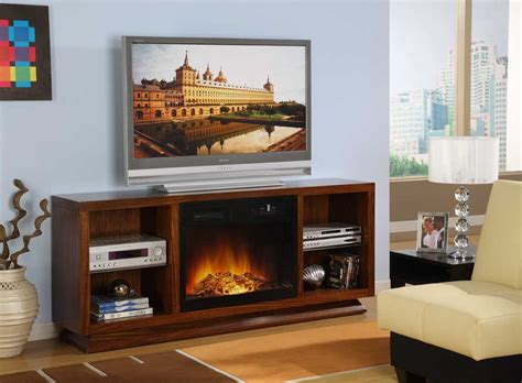 finti camini elettrici homelegance tv stand with electric fireplace 8104