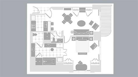 mgm signature floor plan mgm signature one bedroom balcony suite floorplan