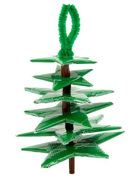 christmas pattern duct tape craft it and win duck tape holiday ornament contest