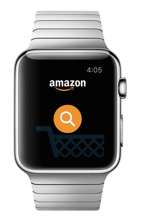 amazon watch amazon s apple watch shopping app arrives with voice