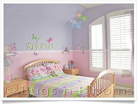 baby girl brown pink butterfly nursery 13 piece crib hanging butterfly 13 large brown pink crystal mesh nylon