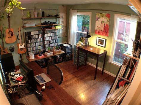 home office and studio designs workspace of the week all in one home office music