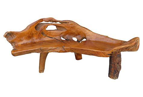 teak root bench teak root bench after george nakashima modernism