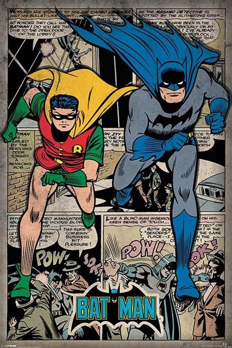 Baju Dc Estate Silver Original batman comic montage poster sold at europosters