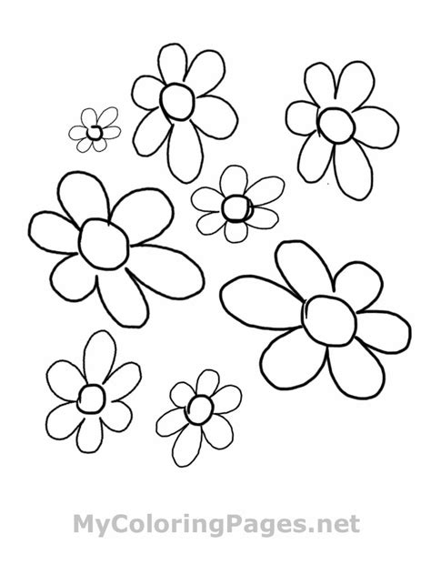 flower to color coloring pages flowers free coloring book pages find