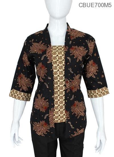 Blus Batik Malika kutubaru tanggung malika motif suket blus lengan