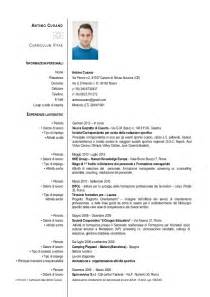 Curriculum Vitae Italiano by Curriculum Italiano Submited Images