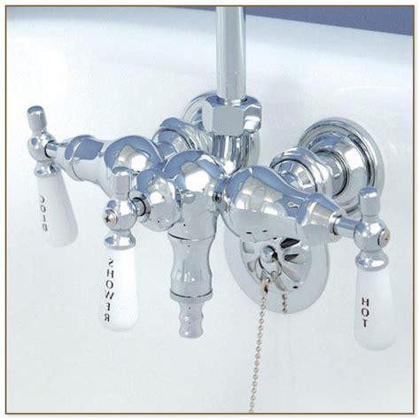 bathtub faucet with shower attachment great faucet for clawfoot tub with shower attachment ideas