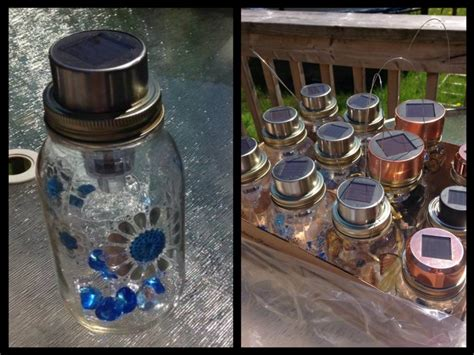 jar solar lights diy diy solar lights made out of jars