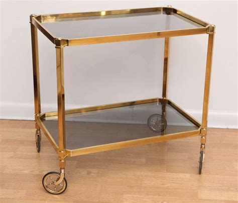 modern bar cart chic modern bar cart at 1stdibs