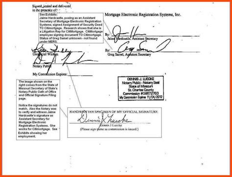 notary signature template notary signature format program format