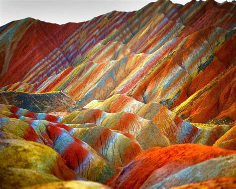 colorful mountains discover the most spectacular colored mountains in the