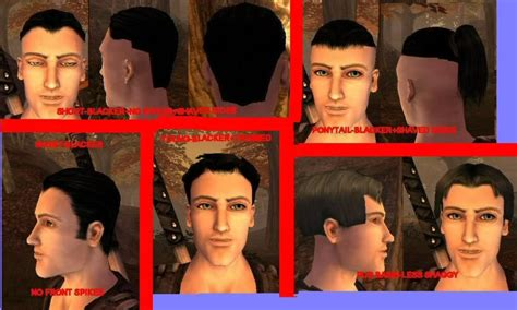 fable hair styles fable the lost chapters mod scene retextures 187 new