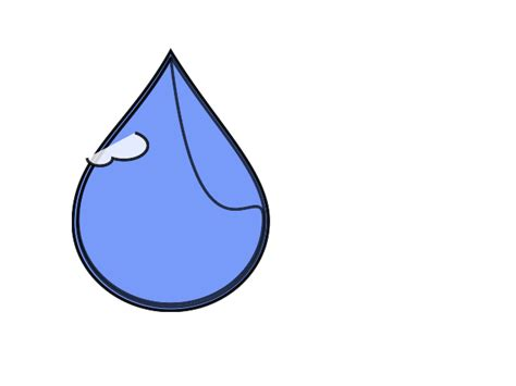 printable raindrop template cliparts co