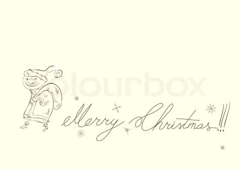 Merry Card Templates Free by Template For Card With Inscription Merry Stock