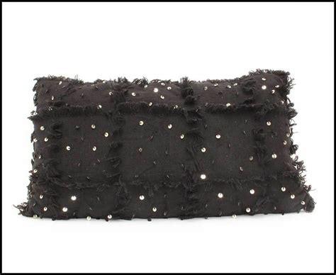 decke handira xl 200 cm x 300 cm schwarz mit 2 kissen xl