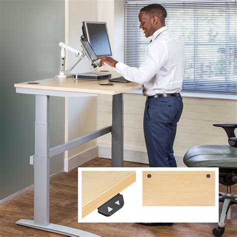 ergonomic sit stand desk posturite deskrite 300 sit stand writing desk