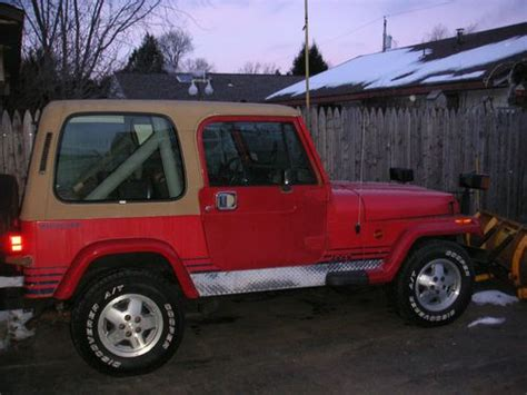 jeep islander 4 door find used 1990 jeep wrangler islander sport utility 2 door