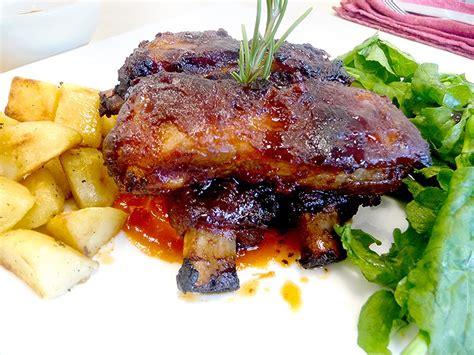 cucinare costine di maiale corso cucina costine di maiale al forno con salsa barbecue
