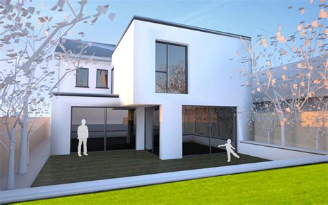 Single Story Floor Plans Extension And Upgrade Work To Family Dwelling South