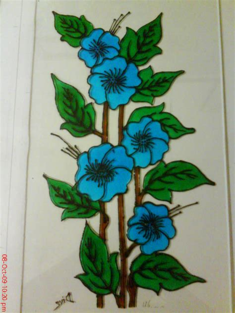 flower design for glass painting simple glass painting designs beginners may seem dma