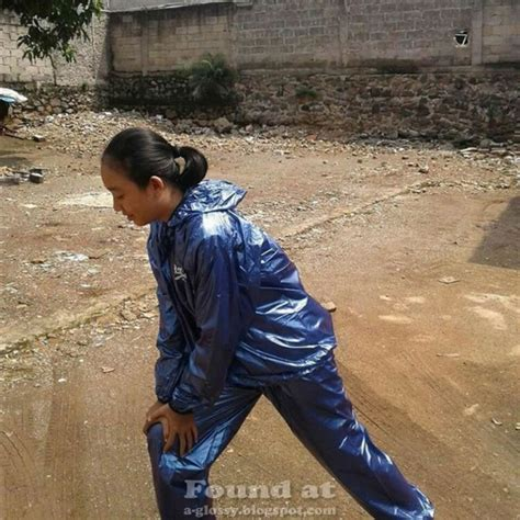 Jual Jaket Sauna Suit shiny sportswear and rainwear transparent reebok sauna suit