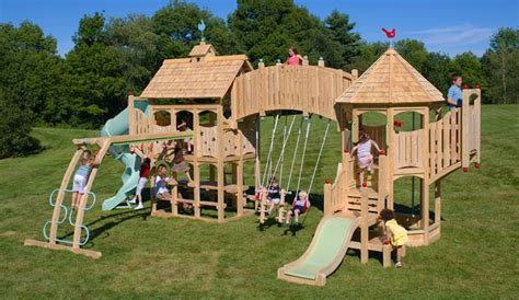 cool swing sets absurdly cool playsets ma and pa need to upgrade their