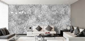 Wohnzimmer Tapeten Schwarz Weis Designtapeten In Silber Grau Schwarz Wei 223